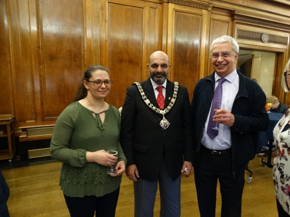 Lord Mayor and guests