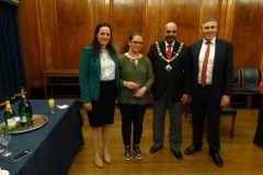 Mayor and NWC members