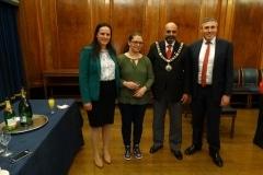 Mayor and NWC members