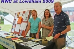 Club Display at the Lowdham Book Festival
